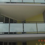 Aluminium Glazed Balustrade